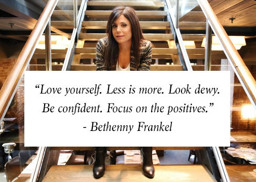 quotation bethenny frankel