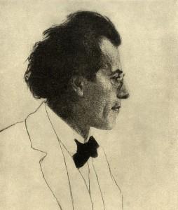 Gustav Mahler (Radierung Emil Orlik 1902)