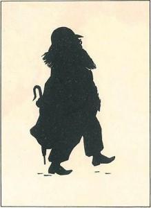 Brahms Schattenbild