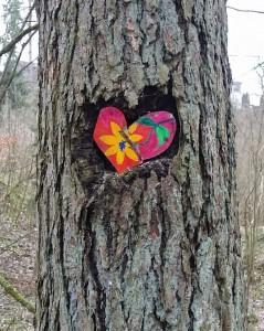 Herz im Baum II