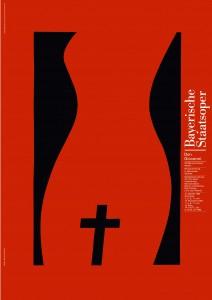 Bayerische Staatsoper Don Giovanni Plakat