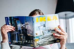 Reading IKEA Catalogue